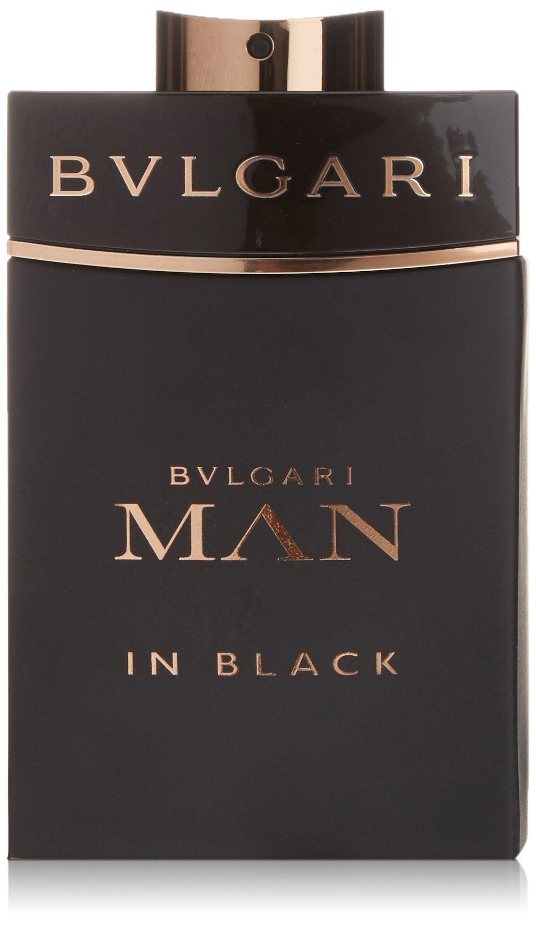BVLGARI Man In Black Eau de Parfum Spray, 5 Fluid Ounce
