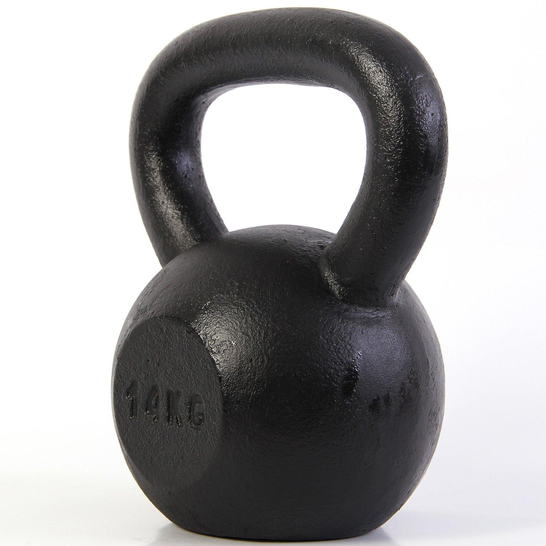 POWRX Kettlebell en Fonte 4-30 kg Noir -14 kg Poign/ée antid/érapante et Base avec Caoutchouc de Protection Id/éal pour Les Exercices /»Fitness Fonctionnel/« Affiche d/´entra/înement PDF