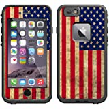 Skin Decal for LifeProof Apple iPhone 6 Case - Retro American Flag