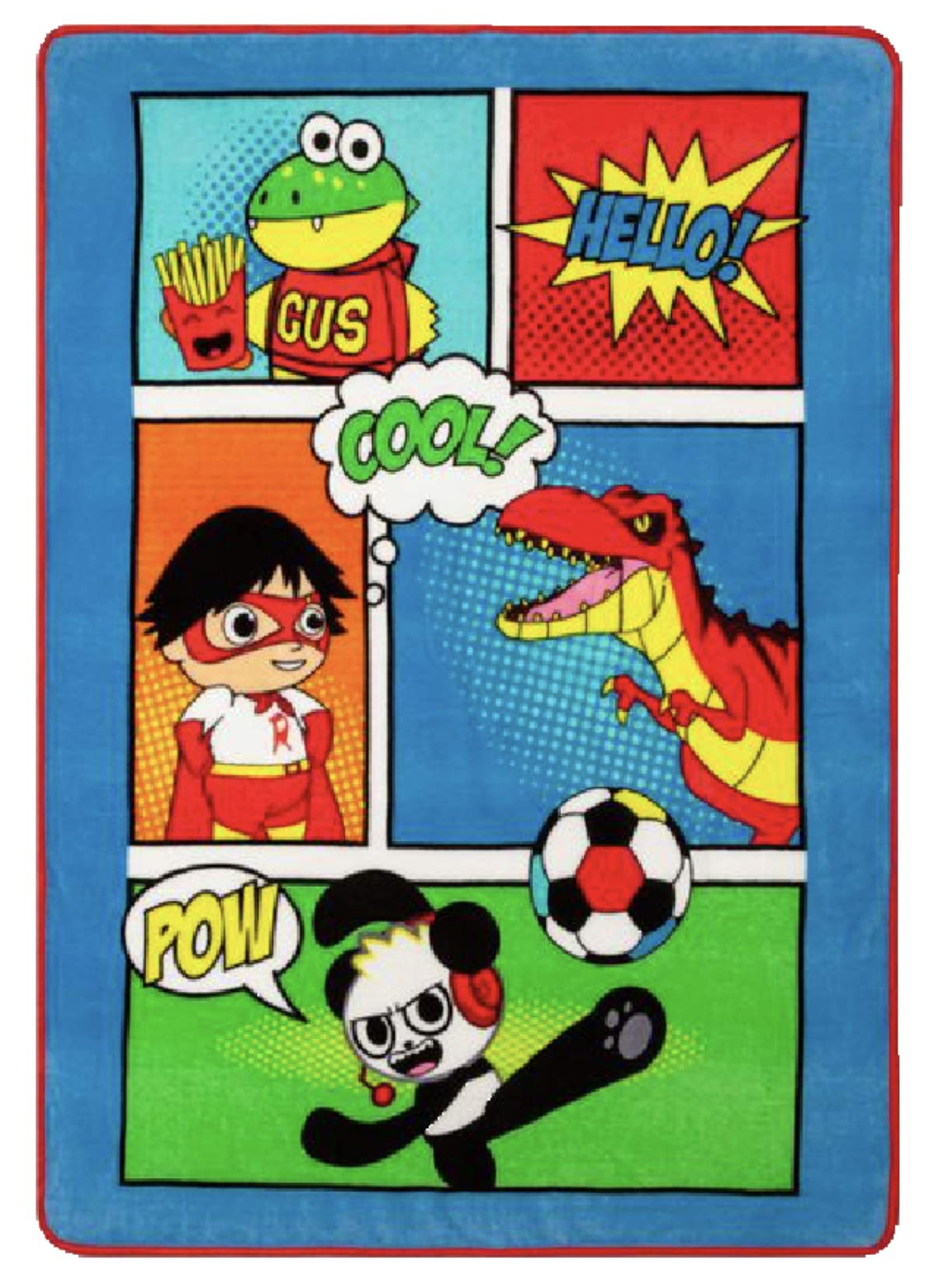 Ryans World Plush Throw Blanket by Ryans World Kids
