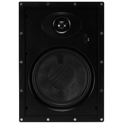 Dayton Audio ME825W 8 Micro-Edge 2-Way In-Wall Speaker Pair