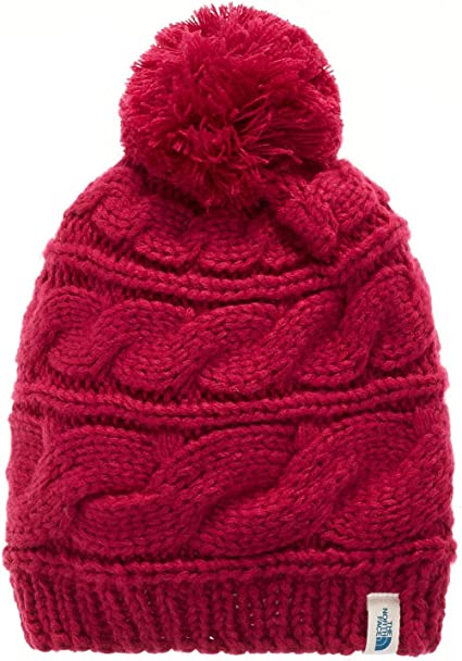 One Size The North Face Womens Triple Cable Pom Beanie