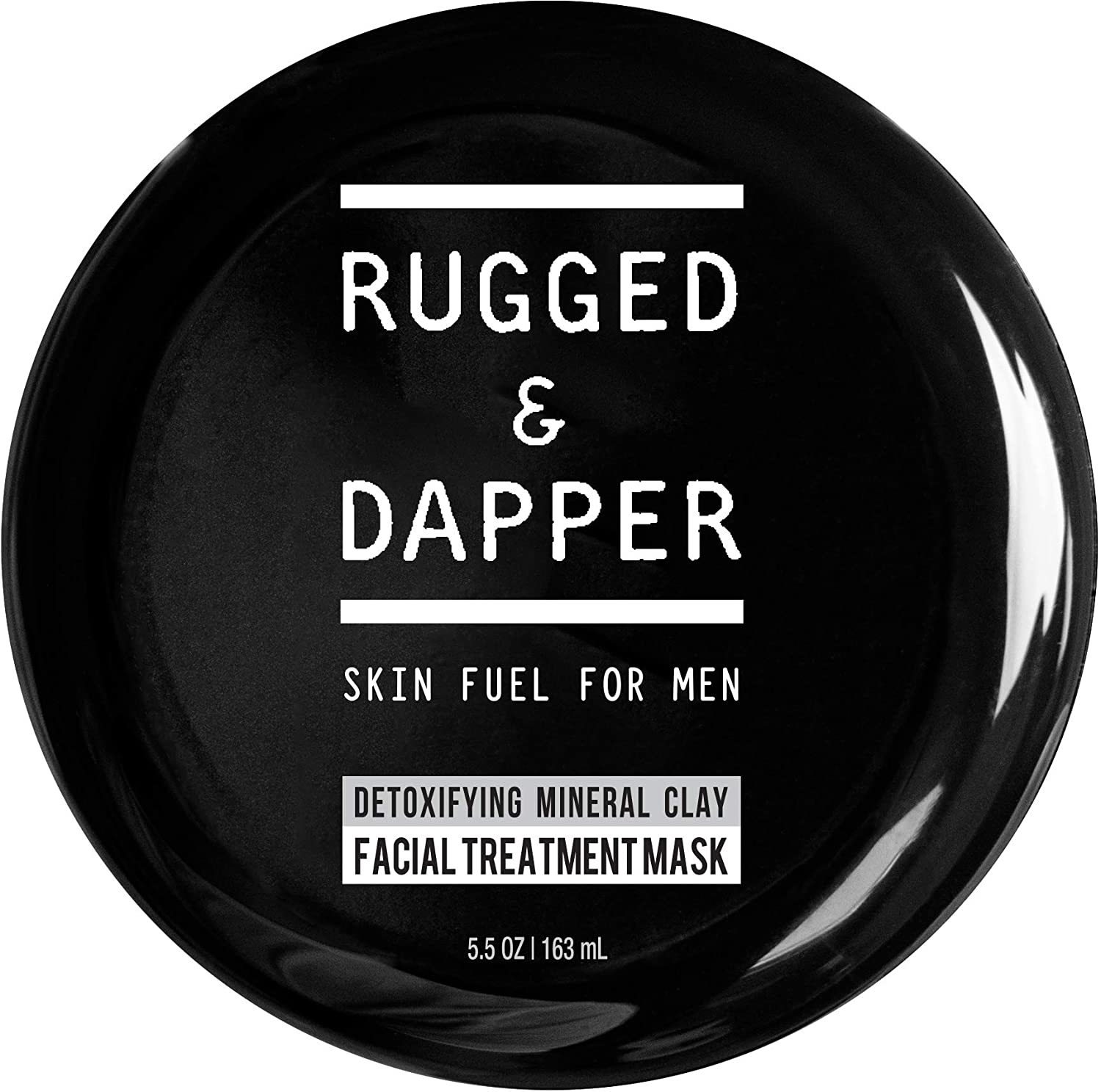 RUGGED & DAPPER Detox and Acne Face Mask for Men, 5.5 Oz