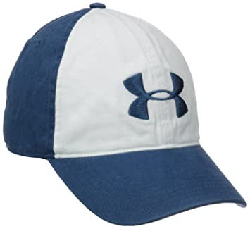 051ca135236 Under Armour Men s UA Washed Cotton Cap One Size Fits All Petrol Blue  Petrol Blue