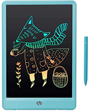 Color : Blue, Size : 8.5 inches AiKuJia LCD Writing Tablet 10 Inches LCD Tablet Baby Graffiti Board Painting Small Blackboard Writing Board for Kids Gifts