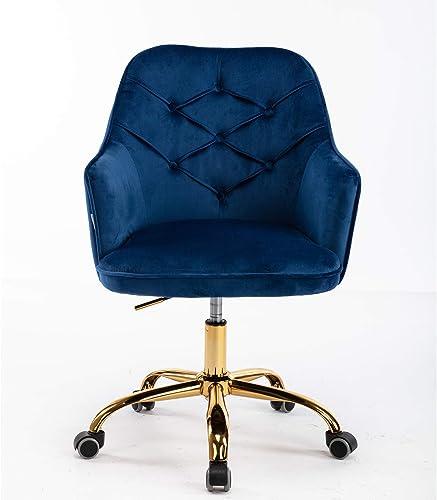 SSLine Elegant Velvet Desk Chair