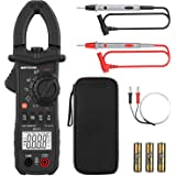 Digital Clamp Meter Meterk 6000 Counts TRUE RMS NCV AC/DC Voltage Auto Range AC Current Clamp Multimeter Capacitance Resistan