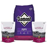 Diamond Dry Puppy Food 8lb-1 Bag Plus 2 Puppy Chicken Biscuits 8oz Each and 2 Dog Toys Included
