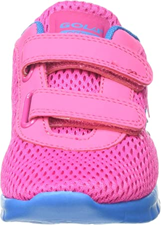 Gola Beta 2 Velcro, Zapatillas Deportivas para Interior para Niñas