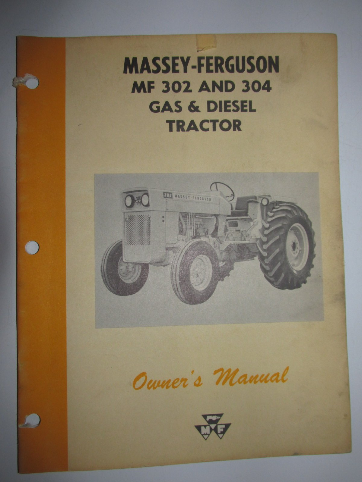 Business, Office & Industrial Other Tractor Publications Mf 690 Operators Instruction Book