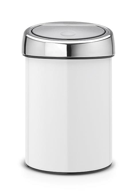 Amazon.com: Brabantia Touch Bin, Contenedor de basura bin ...