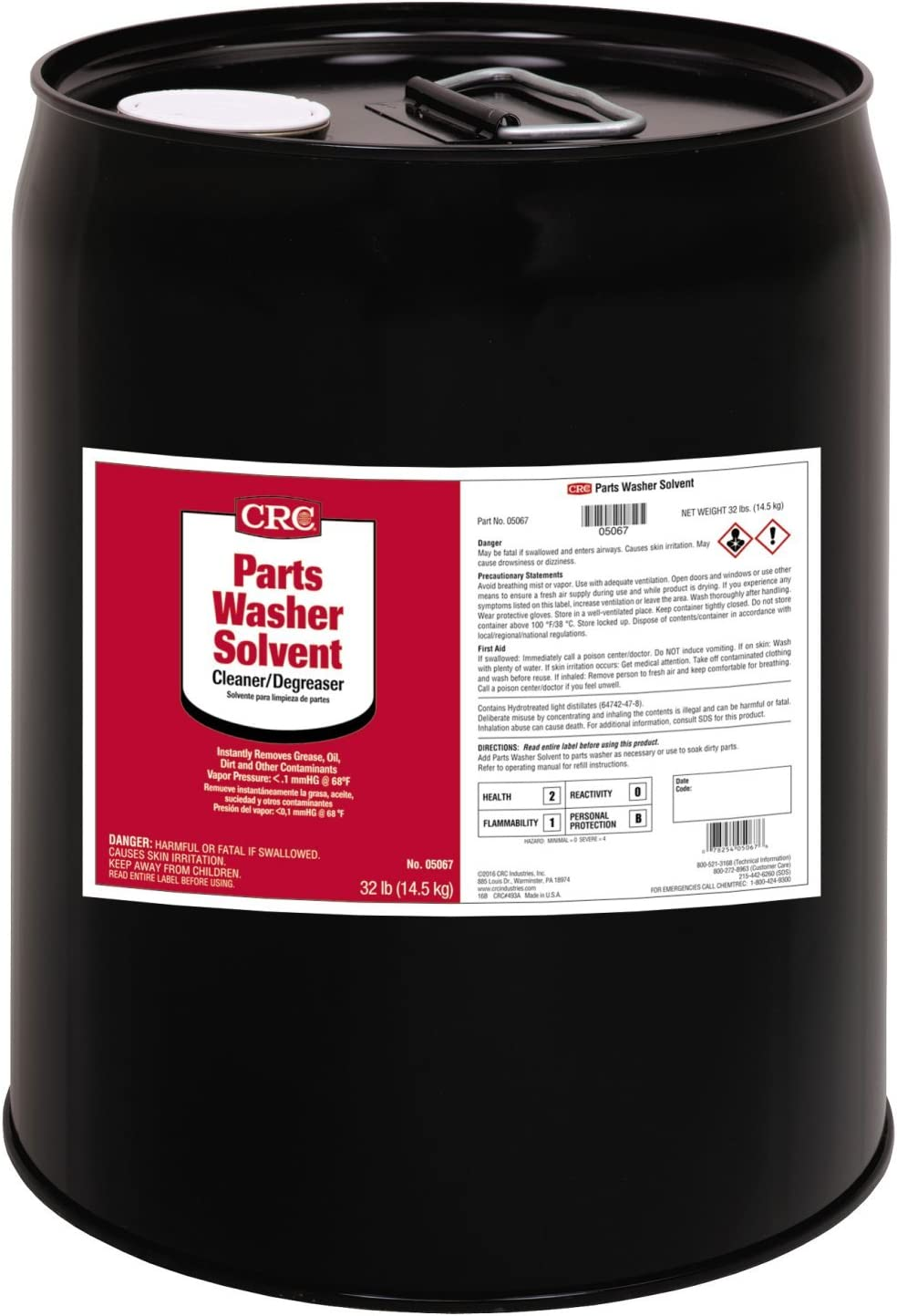 CRC 05067 Parts Washer Solvent