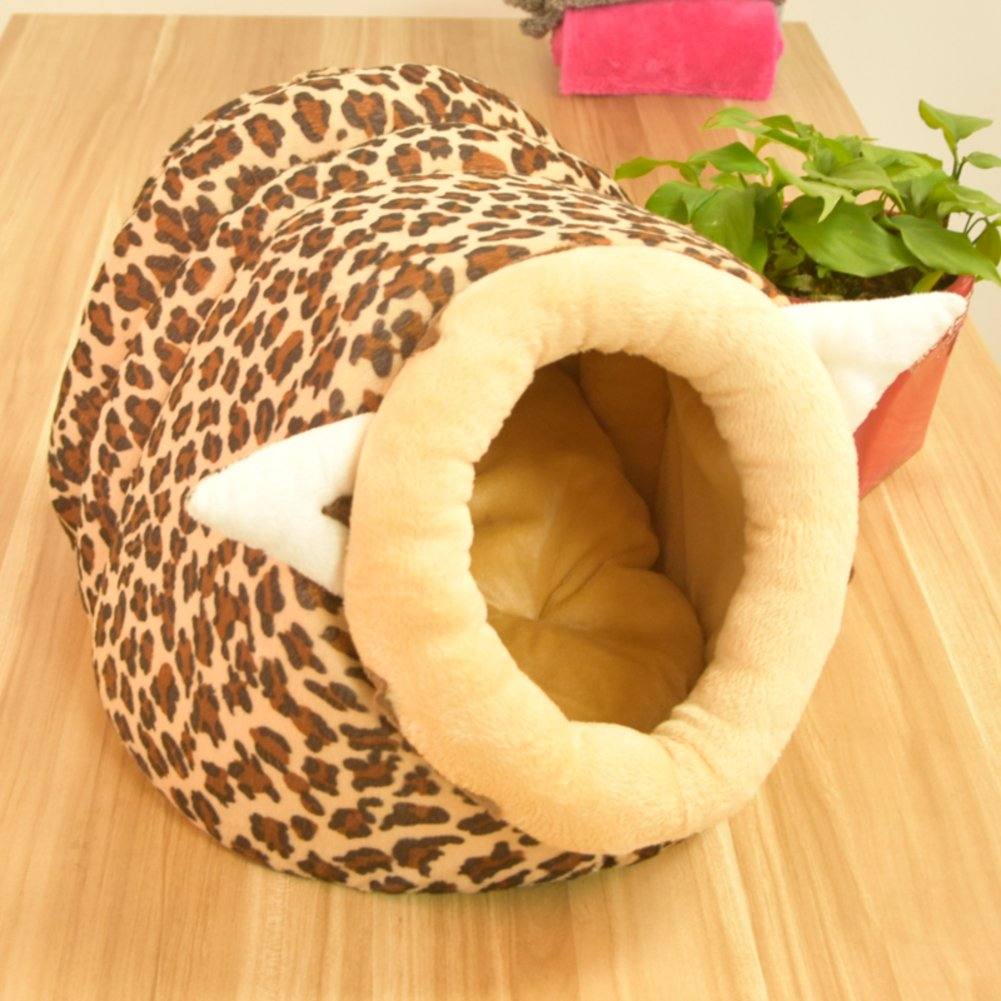The cat kennels small pet washable GER Thick in the winter to keep warm-C 50x45cm(20x18inch)