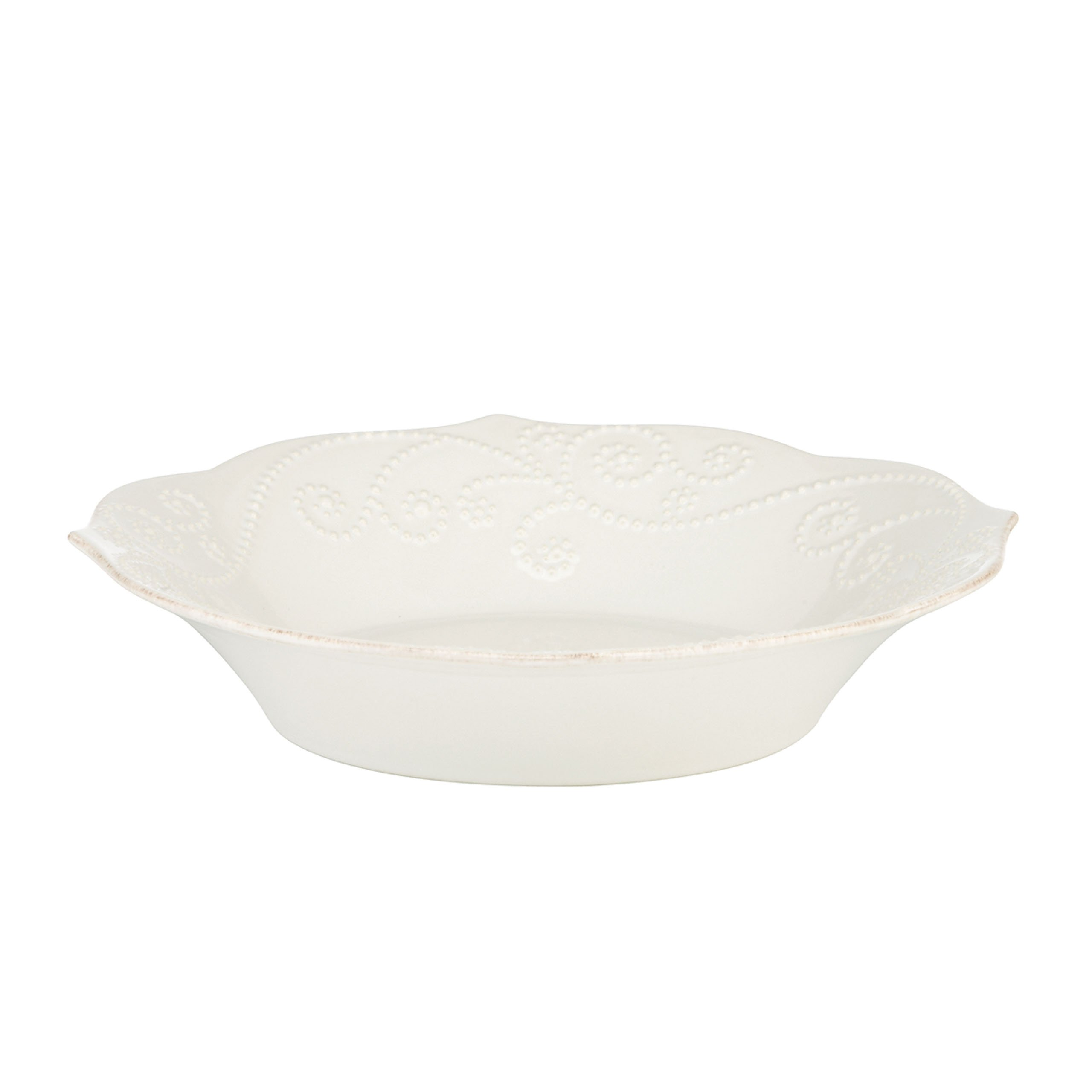 Lenox French Perle Individual Pasta Bowl, White