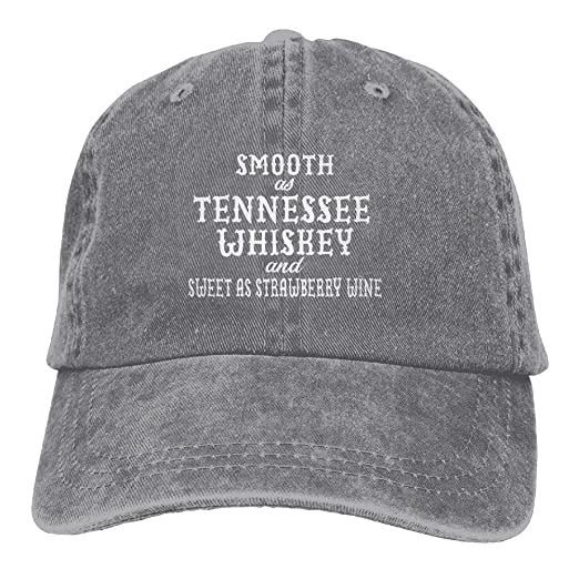 4a647457e534 ... clearance smooth as tennessee whiskey plain adjustable cowboy cap denim  hat for women and men b9d87