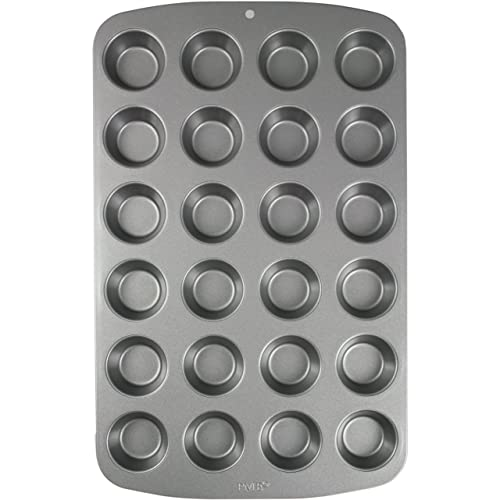 PME Carbon Steel Non-Stick 24 Cup Mini Muffin Pan