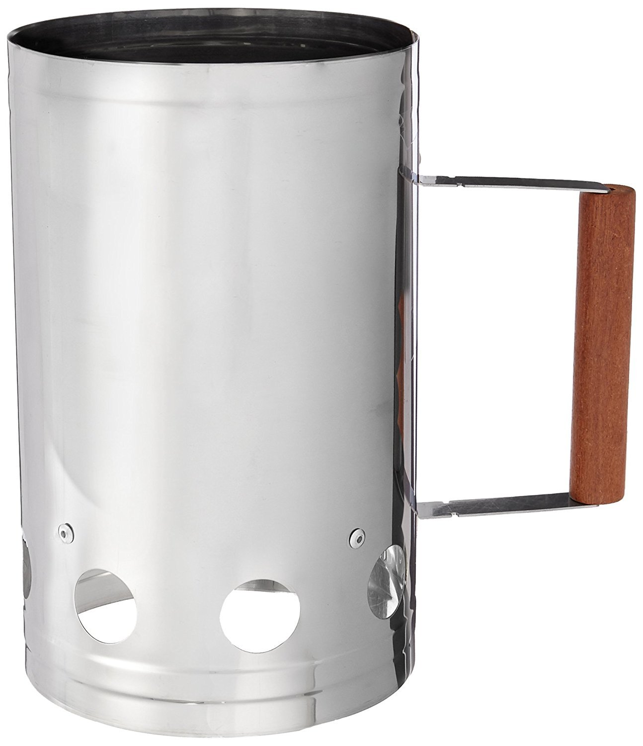 Charcoal Companion Stainless Steel Chimney Charcoal Starter (3) by Charcoal Companion