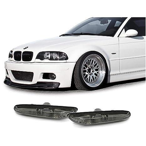 Intermitente negro ahumado para BMW 3ER E46 00-05 5ER E60 E61 03-10
