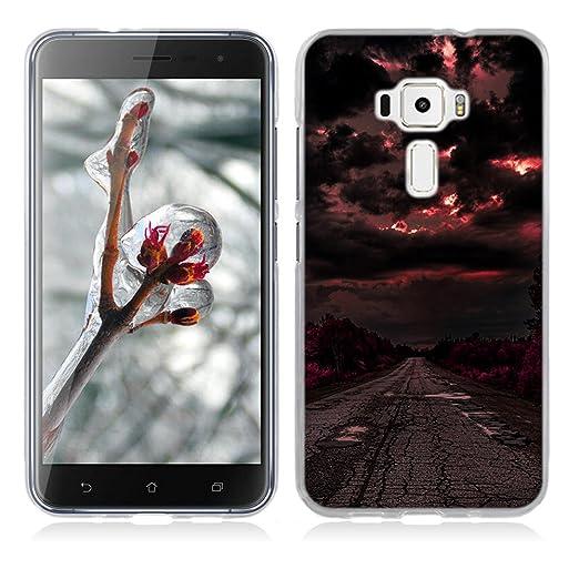 3 opinioni per Asus Zenfone 3 ZE520KL Cover, Fubaoda Alta qualità Bello e romantico paesaggio
