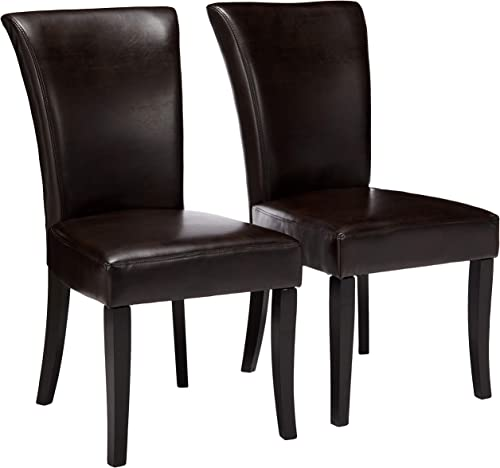 Christopher Knight Home Stanford Leather Dining Chair