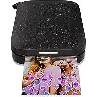 HP Sprocket New Edition –Impresora fotográfica portátil (Impresión Sin Tinta, Bluetooth, 5x 7,6cm Impresiones) Negro