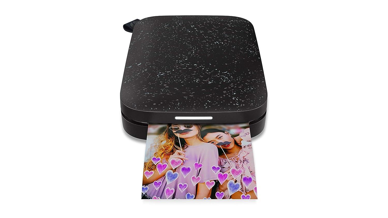 HP Sprocket 200 Stampante Istantanea Fotografica Portatile 5 x 7.6 cm, Nera 1AS86A#638