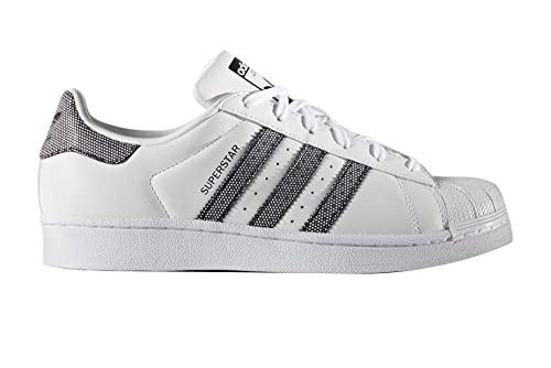 adidas Superstar W Basket Mode Femme Blanc 44