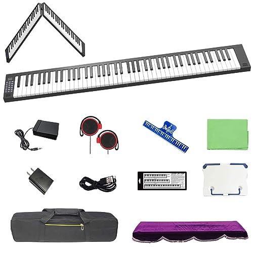 TOMOI 電子ピアノ 88鍵盤 折り畳み式