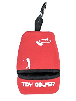 Tidy Golfer (Rojo)  - Limpiador de Palos y Pelotas de Golf ...