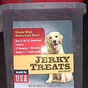 Amazon.com : Jerky Treats Tender Beef Strips Dog Snacks