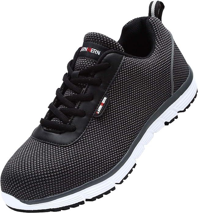 Zapatillas de Seguridad Mujer, LM-30, Zapatos de Trabajo con Punta ...