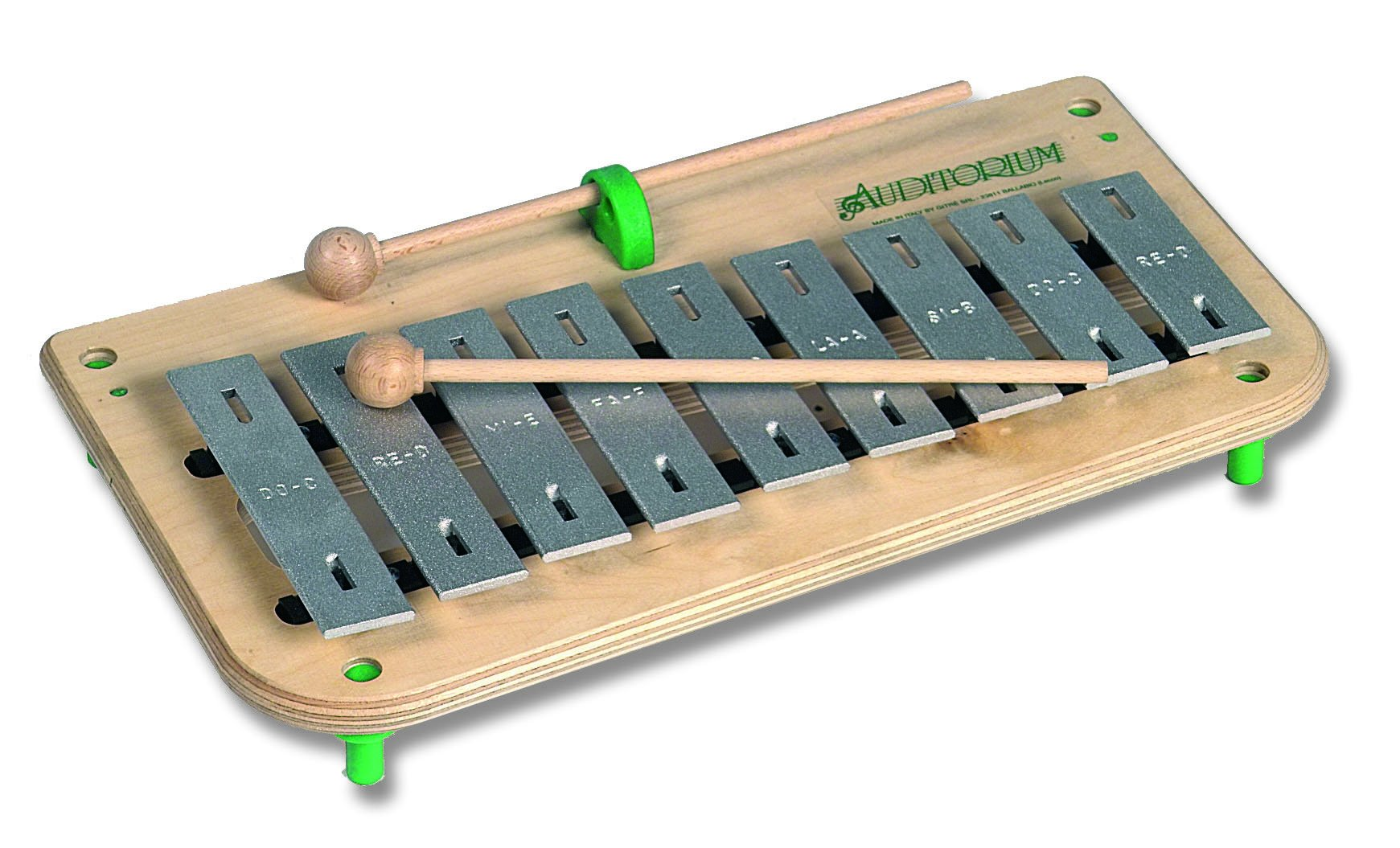 Gitre 768/2S 370 x 450 x 60 mm 22 Notes Soprano Chromatic Glockenspiel
