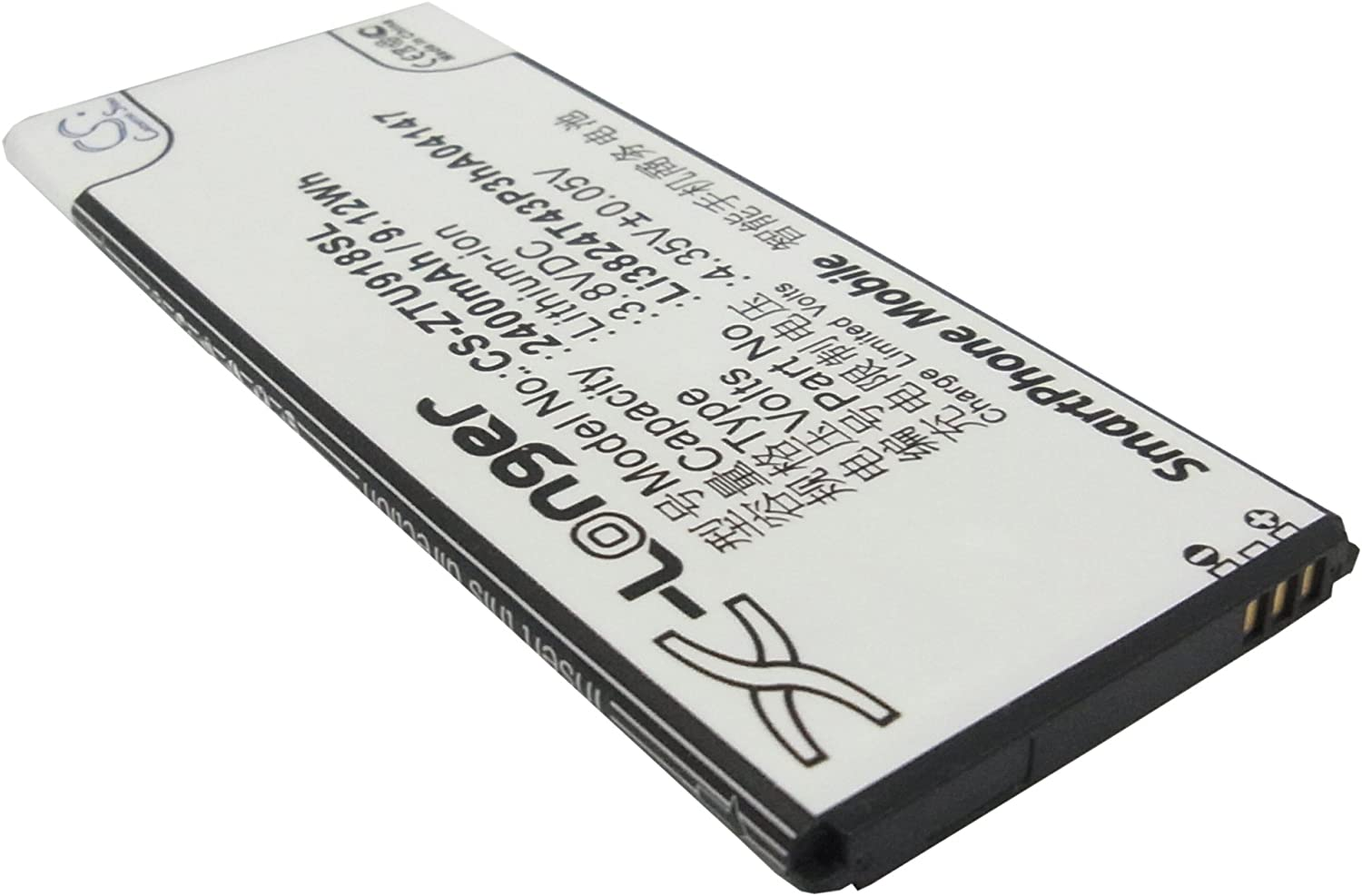 Replacement Battery for ZTE - Mobile, Smartphone Battery: Amazon ...