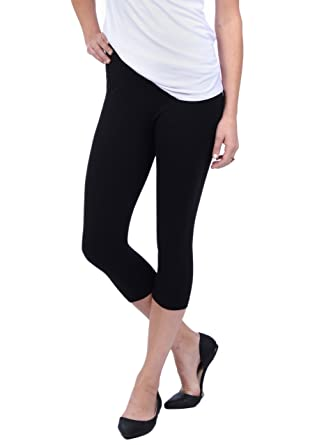 Amazon.com: Lysse Leggings for Women-basic Cotton Capri Legging ...