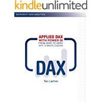 Applied DAX with Power BI: From zero to hero with 15-minute lessons (English Edition)