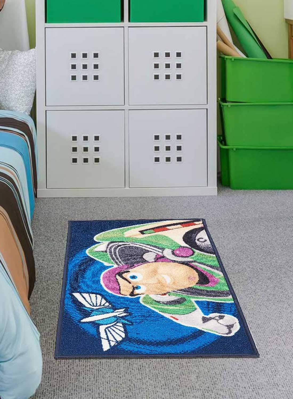 Unamourdetapis Tapis Chambre Toy Story Bleu 50 x 80 cm Tapis Enfant et Disney