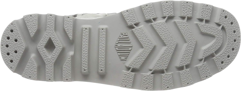 Palladium Pallabrouse Baggy Herren Desert Boots Grau Vapor Metal