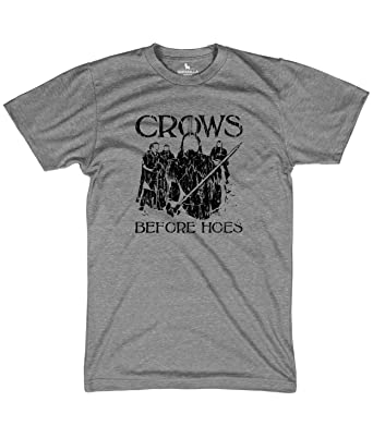5338cd03 Crows Before Hoes Nights Watch Tshirt Funny tees | Amazon.com