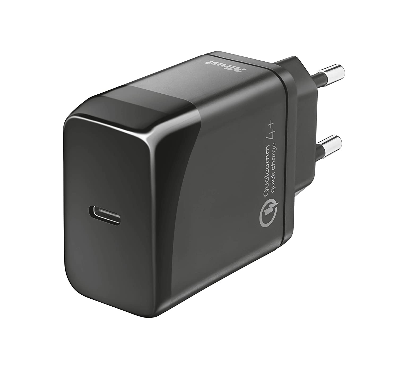 Trust Velox18 Avanzato caricabatteria Veloce USB-C con PD e QC4+