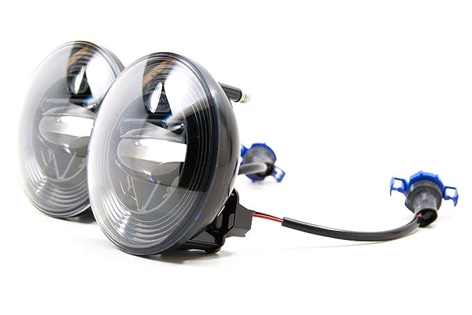 2014 2017 gmc sierra 1500 \u0026 2500 led fog lights kit xb Protege Fog Light Wiring Harness