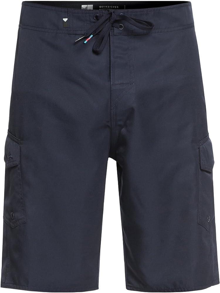 f60dd6c3048 Amazon.com: Quiksilver Men's Manic Solid 21 Swim Trunk, Navy Blazer ...