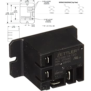 american zettler power relay for atwood 93849. Black Bedroom Furniture Sets. Home Design Ideas