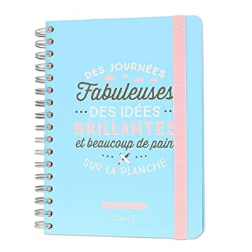 Agenda 2016-2017 Mr. Wonderful 16x22 cm Días geniales x1 ...