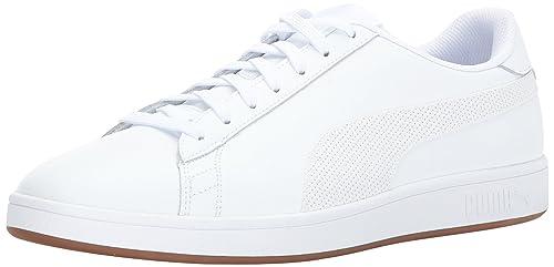 PUMA Men s Smash v2 Lthr Sneaker 965287a03