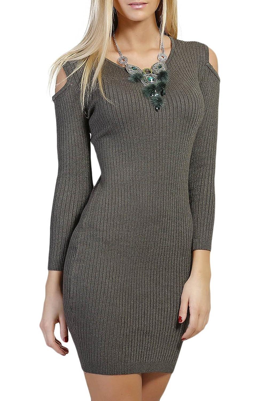 INFINIE PASSION - Khaki - Tight dress
