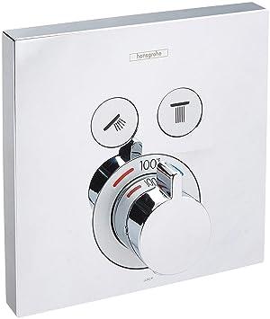 Hansgrohe 15763 showerselect termostático 3 funciones válvula Trim con compartido Outl,: Amazon.es: Bricolaje y herramientas