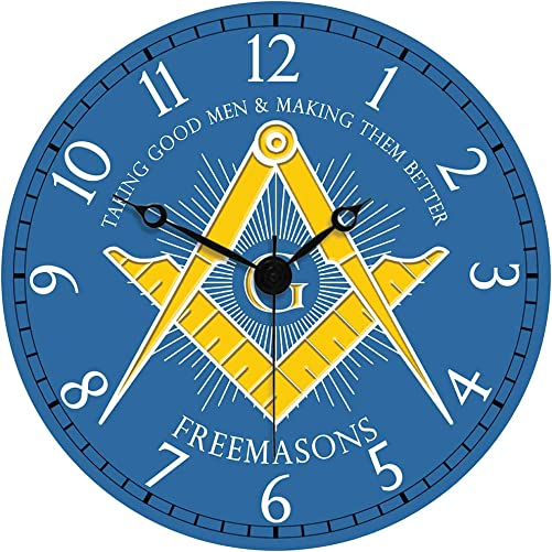 Sigma Impex CLK-112 Masonic Wall Clock