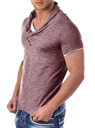 Redbridge by Cipo & Baxx Herren Shirt R-41223 bordeaux S