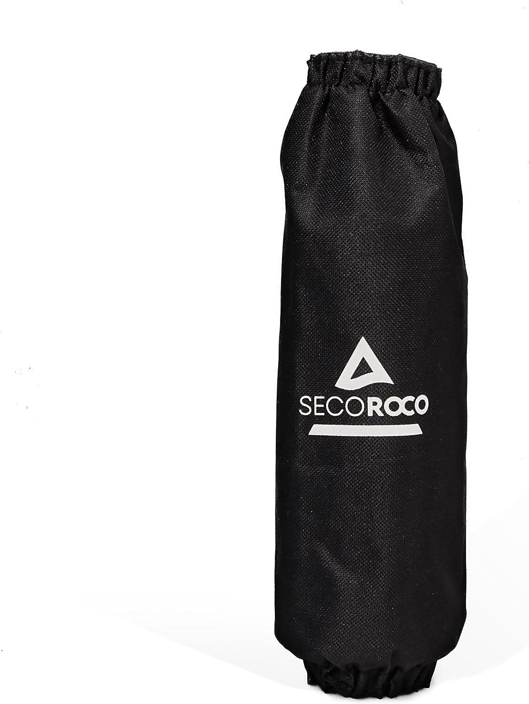 Motif unique /« zig zig /» Sac de transport ou de gym tendance et protection pour arbres et cliquet inclus Kit slackline Secoroco -/Longueur de 15 25/ou 35/m et largeur de 5/cm