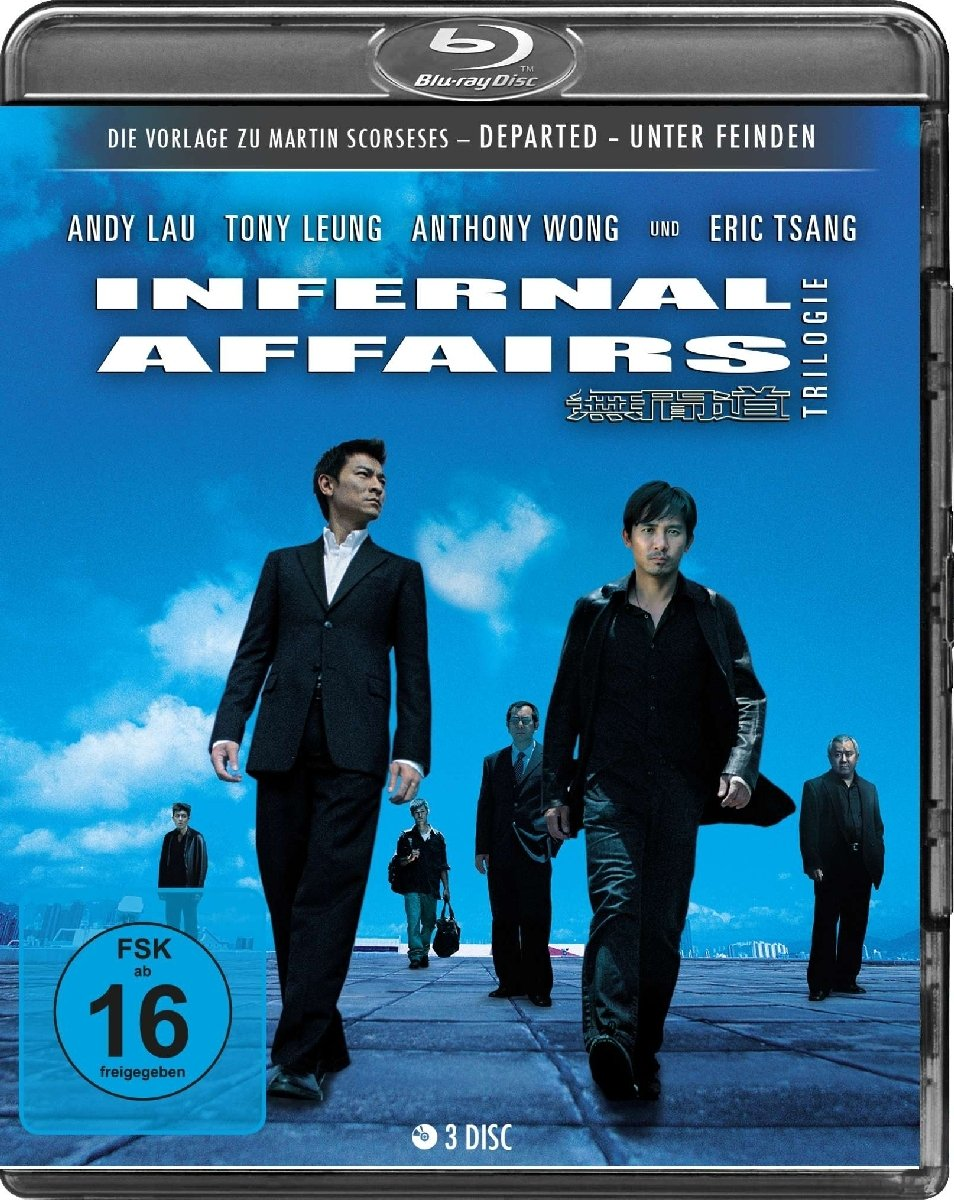 Infernal Affairs Trilogie: Amazon.co.uk: DVD & Blu-ray